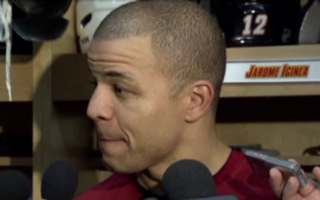 Jarome Iginla Is Flabbergasted By Reporter's Repeated Question That's Not Actually A Question