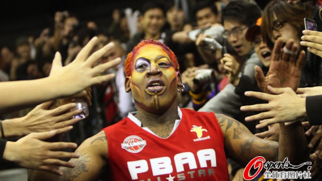 Dennis Rodman Gets More Colorful With Age