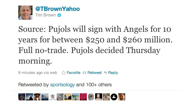 Report: Albert Pujols To Sign With The Angels