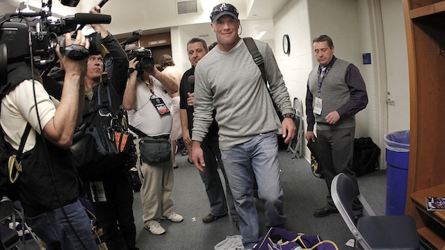 Would Brett Favre Answer The Phone If The Texans Called, Too? Brett Favre's Agent Does Not Know