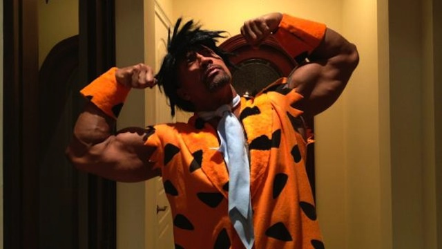 The Rock Is: Fred Flintstone