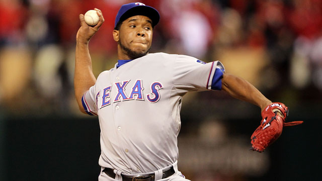 Neftali Feliz's Ninth Inning Last Night Was Freaky And Amazing