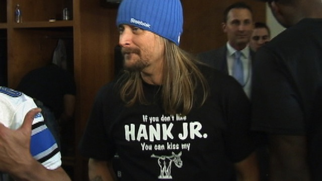 Hank Williams Jr. Gets Much-Needed Public Support From Kid Rock