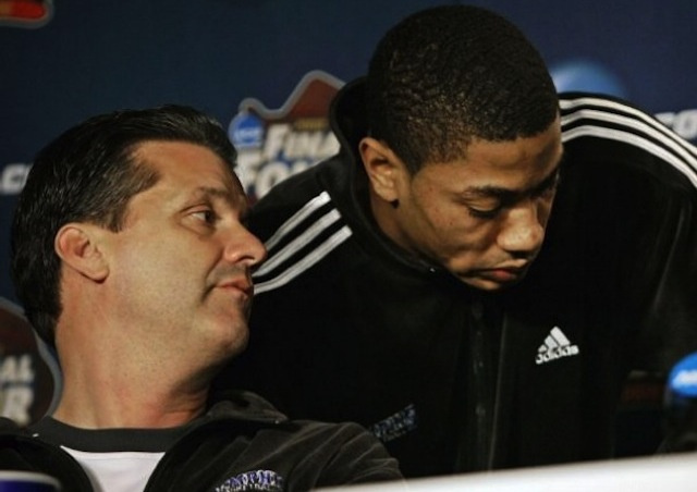 Derrick Rose and John Calipari Are Paying Back Memphis Fans For That Title Game They Cheated Their Way Into