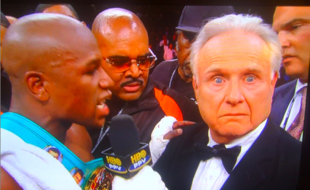 Photoshop Contest: Larry Merchant On The Edge