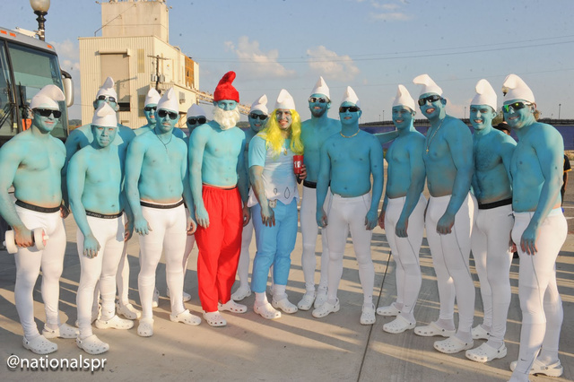 The 2011 MLB Rookie Hazing Costume Collection