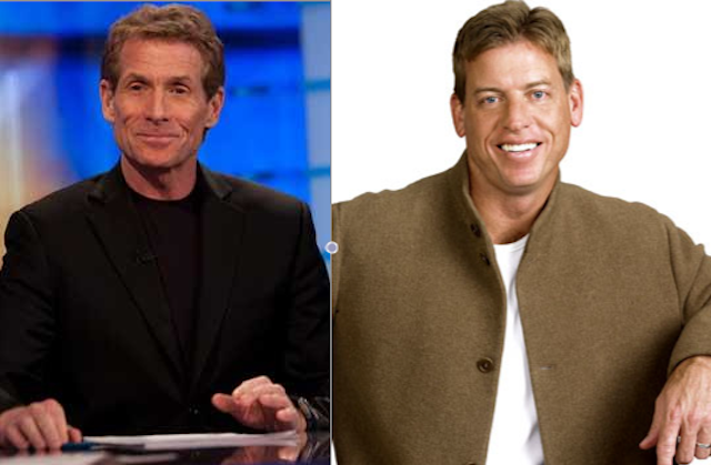 "15 Years After Skip Bayless Said Troy Aikman Might Be Gay, Aikman Fires Back With ""I'm Not So Sure Skip's Not Gay"""