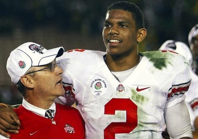 "Jim Tressel On Terrelle Pryor: ""Love Conquers All"""