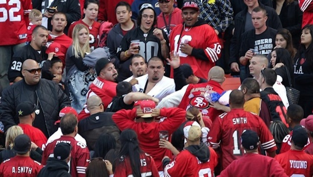 Cops, 49ers Will Work To Make Fans Less Drunk After Especially Drunken Raiders-49ers Game