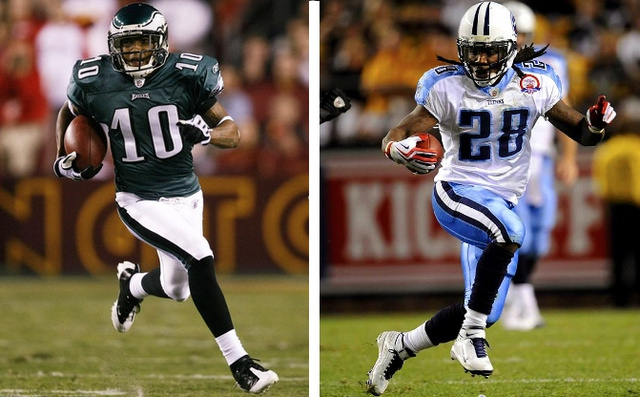 Chris Johnson's Holdout Is Good News For Titans Fans; Eagles Fans Should Probably Worry About DeSean Jackson