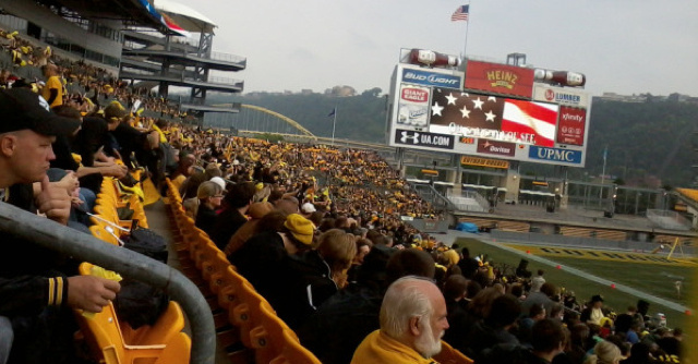 This Is What It Looked Like When Heinz Field Became The Home Of The Gotham Rogues