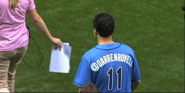 Darren Rovell's Rays Jersey Breaks His Seventh Rule Of Twitter