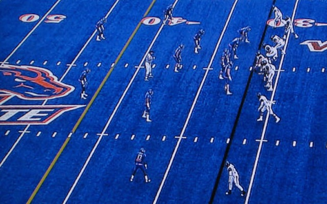 Boise State Forbidden From Wearing All Blue Everything On All Blue Field