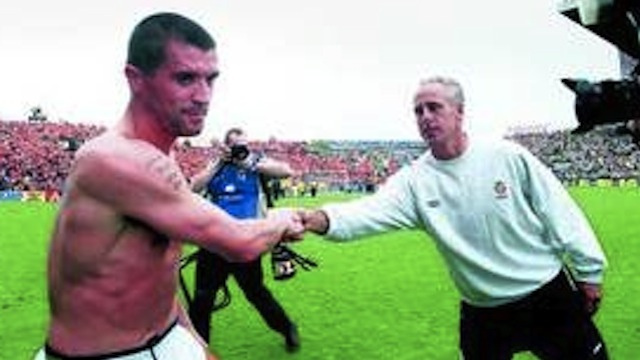 Mick McCarthy's Secret To Successfully Managing A Soccer Team: Handshakes