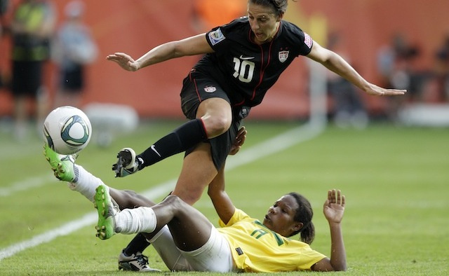 Female Soccer Players Don't Fake It Like The Men, Science Says