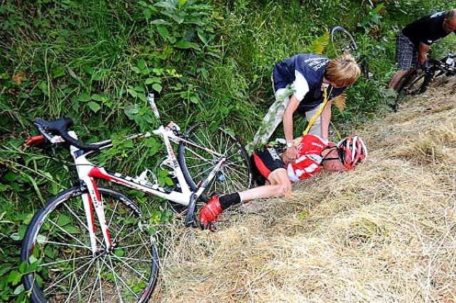 Concussed Cyclist Doesn't Remember Finishing Yesterday's Stage Of The Tour De France