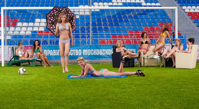 "Bikini-Clad Russian Soccer Players Declare That The ""Time Of Female Football Has Come,"" Are Correct"