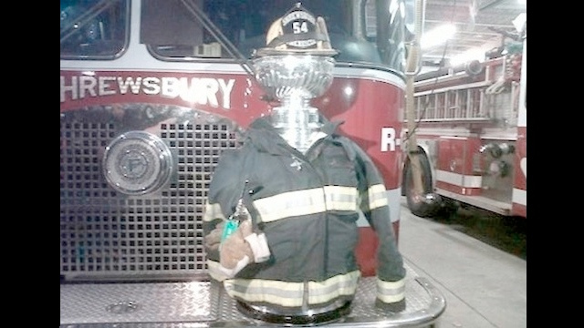 The Stanley Cup Begins Its Summer Job As A Firefighter