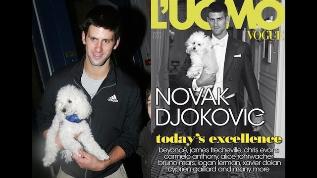Deprived Of His Poodle, Serial Animal-Lover Novak Djokovic Seeks Companionship From Squirrel