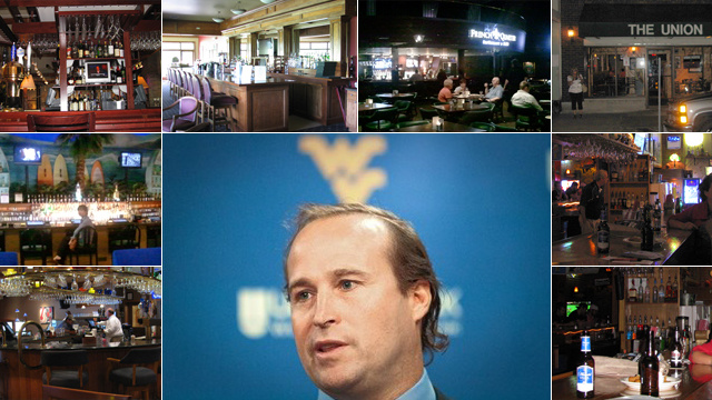 """Too Much To Drink And Chasing Pussy"": A Tour Of The W.V. Bars In Which Dana Holgorsen Allegedly Got Shitfaced"