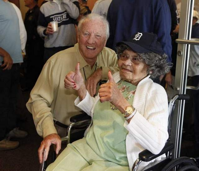 104-Year-Old Woman Celebrates Birthday At Tigers Game, Wastes Her Life