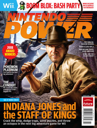 Indiana Jones And The Staff Of Kings Revealed In New Nintendo Power