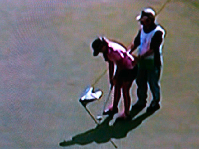 Here's An Innocent Picture of Golfer Paula Creamer That Looks Naughty When Viewed From Certain Angles
