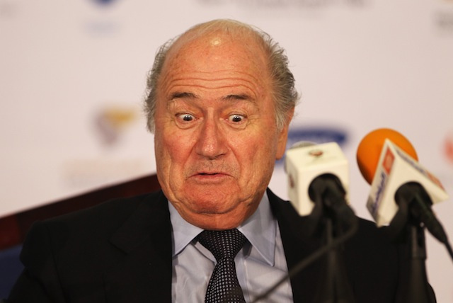 "Sepp Blatter Says FIFA Will ""Be Sucked Into A Black Hole"" If Sepp Blatter Is Not Reelected FIFA President"