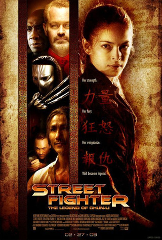 Presenting A New, Different Street Fighter Movie Poster