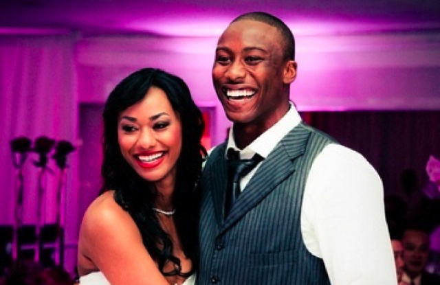 Dolphins WR Brandon Marshall's Wife Allegedly Stabs Him, But He Claims He Fell Onto A Broken Glass Vase