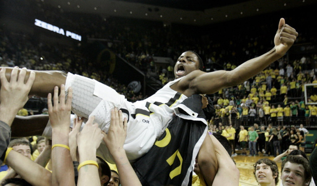 Invisible Line Helps Oregon Win A Sub-NIT Championship