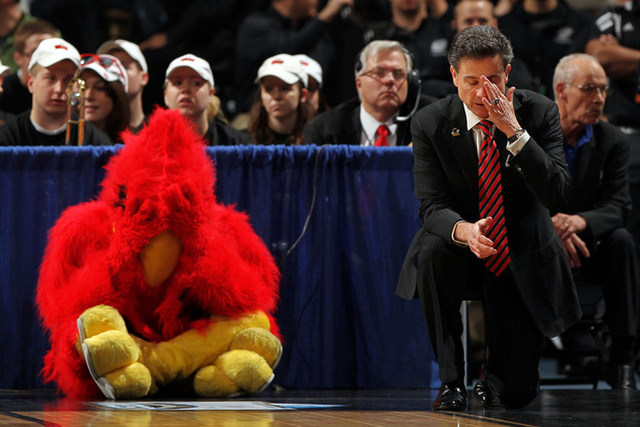 Sad Pitino. Sad Bird.