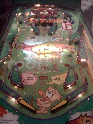 Play Pinball, Learn About Farts