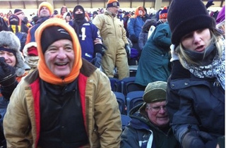 "Bill Murray To Packer Fan At Soldier Field Last Sunday: ""Nitschke is a pussy."""
