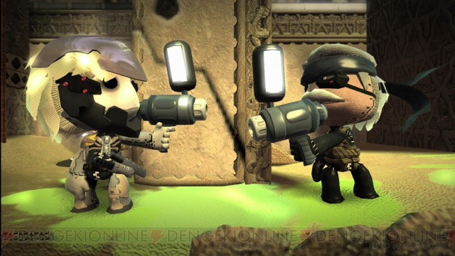 MGS4 Content Comes to Japan's LittleBigPlanet on Christmas