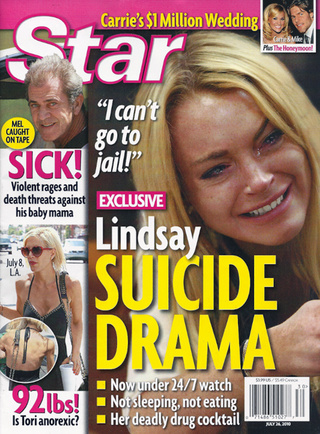 This Week In Tabloids: Lindsay's On Suicide Watch