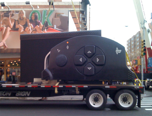 And On The Third Day, The Giant PSP Was Risen...