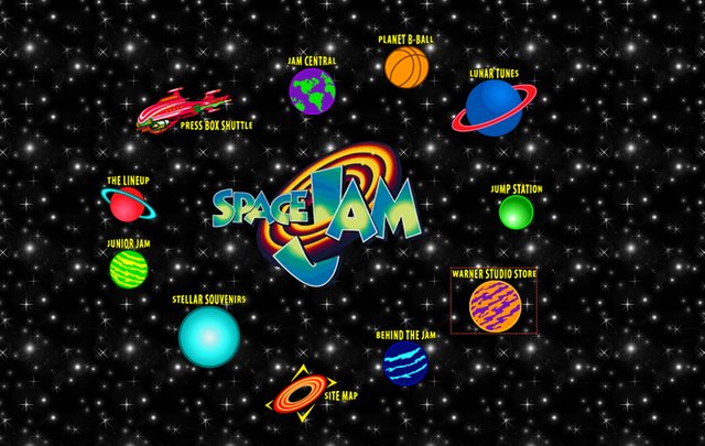 The Space Jam Website From 1996 Is Still Up