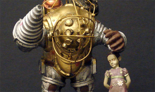 "BioShock's Big Daddy Figure Says ""Hey, Little Sister"""