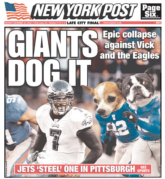 Weekend Winner: Philly, Now Better Than New York At Everything, Including Dog-Pun Headlines