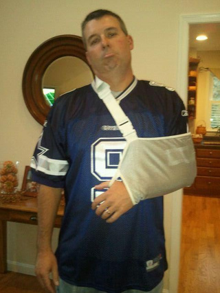 Here Are Some Photos Of People Pretending To Be Injured Tony Romo