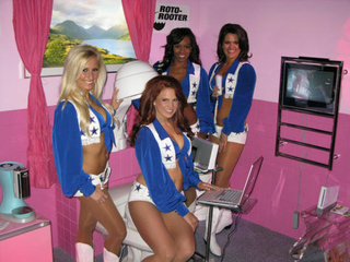This Is What Four Dallas Cowboys Cheerleaders Do In The Bathroom Together