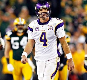 Bring Out The Limp: Brett Favre's Ankle Has Tiny Fractures