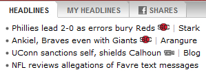 Your 2:30 P.M. Favre Update