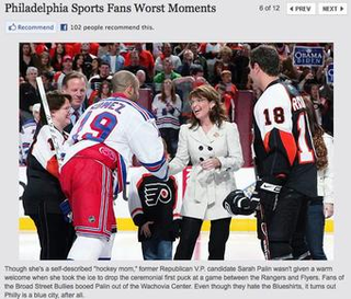 N.Y. Daily News Still Pissed At Flyers Fans Who Booed Grizzly Mom