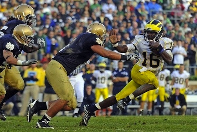 How A College Kid's Photograph Helped Launch Denard Robinson's Heisman Candidacy