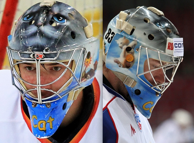 This Goalie Has Just The Most Adorable Mask