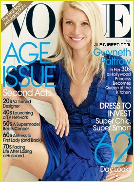 Gwyneth Paltrow Continues To Talk Cooking, This Time In August Vogue
