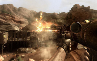Far Cry 2 Review: Hurry Boy, It's Waiting There For You