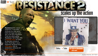 USA Today Has Resistance 2 Beta Codes
